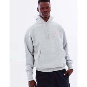 Champion NEW Soft Light Gray Athletic Hoodie NWT